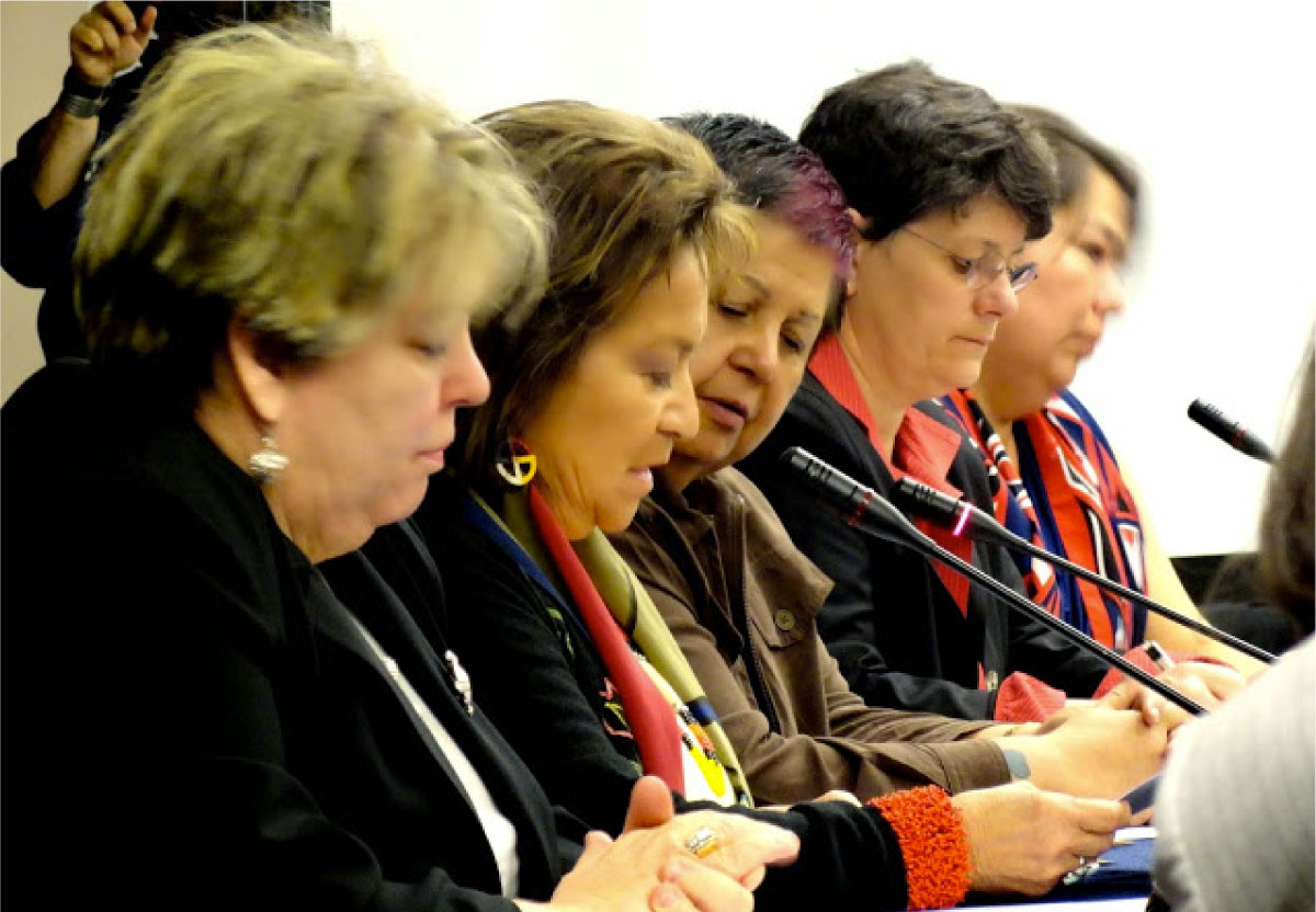 NWAC and FAFIA at the IACHR 2012